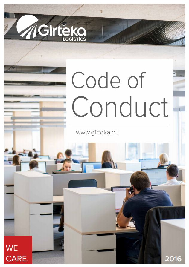 corporate codes conduct On november 9, 2012 mckesson's code of ethics applicable to the chief executive officer, chief financial officer, controller and financial managers was consolidated with and into the code of conduct applicable to all employees, including officers, as well as members of the board of directors.