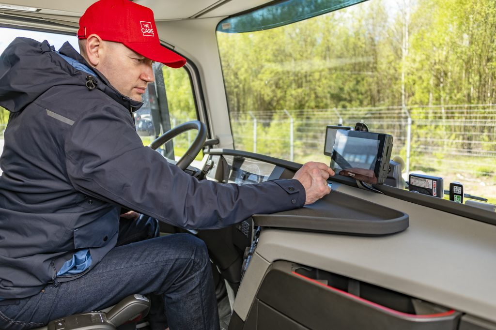 Driver and a tablet